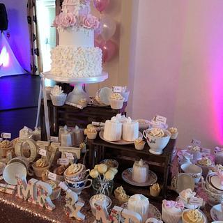 dessert table.....
