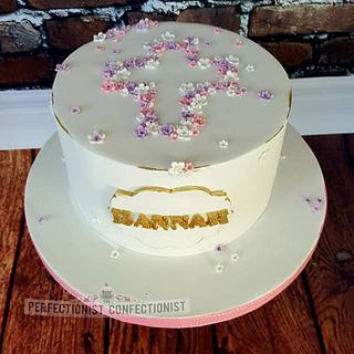 Hannah - Blossom Communion Cake