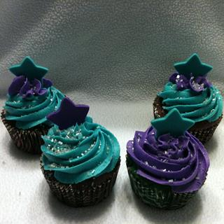 Elite Cheer cupcakes - Cake by Dawn Henderson
