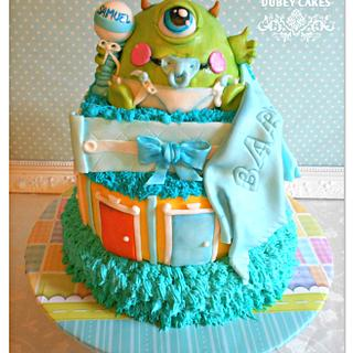 Baby Monster  - Cake by Bethann Dubey
