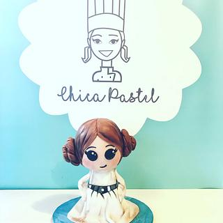 Leia Cake Star Wars - Cake by Chica PAstel