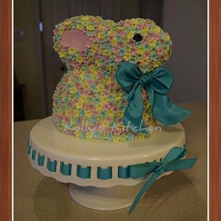 Blossom Easter Bunny cake