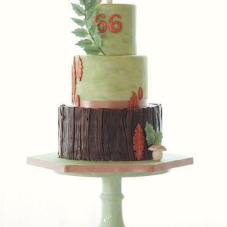 Woodland inspired - Cake by Odise