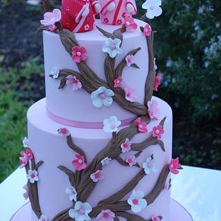 Japanese Birthday Cake - Cake by Jaymie