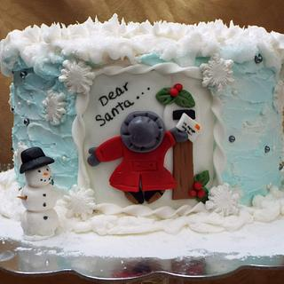 Letter To Santa - Cake by Samantha Dean