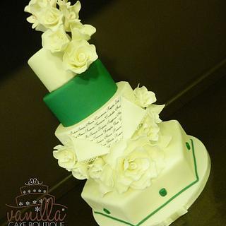 Emerald Cake - Cake by Vanilla cake boutique