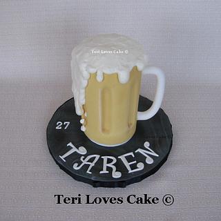 Small Beer Mug Cake