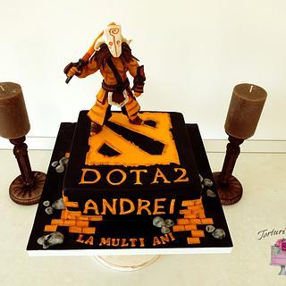 Dota 2 birthday cake
