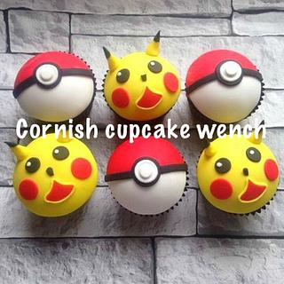 Pokemon go  cupcakes gotta eat them all