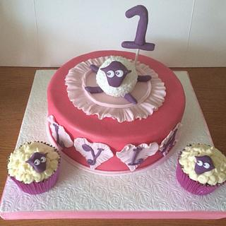 Ewan the Sheep Cake