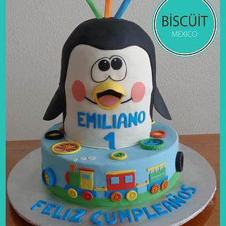 Emiliano - Cake by BISCÜIT Mexico