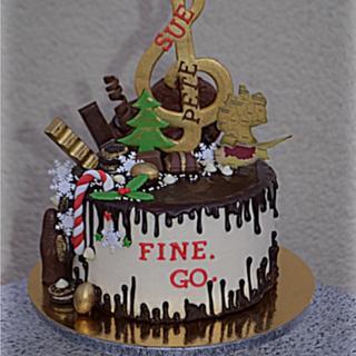 Drippy good bye cake