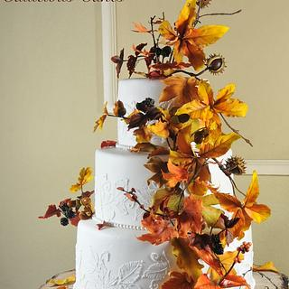 Harvest Wedding cake