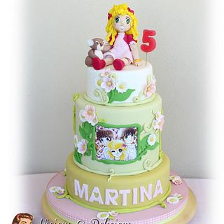 Lady Georgie cake