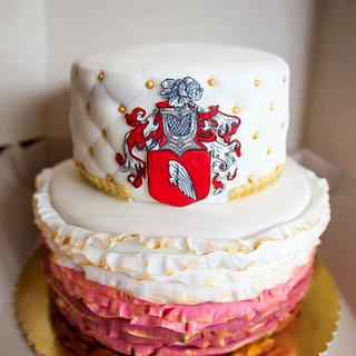 Bevilacqua crest cake