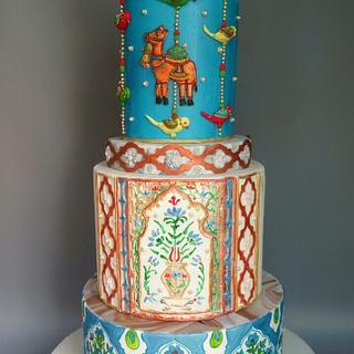 Rajasthani Wedding Cake
