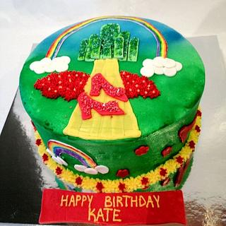 Ruby Red Slippers - Cake by Dawn Henderson