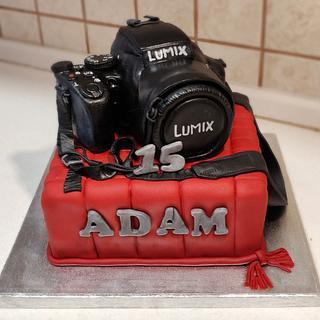 Camera LUMIX - Cake by Majka Maruška