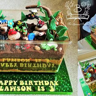 Bug cake - Cake by Bonnie Bakes UAE