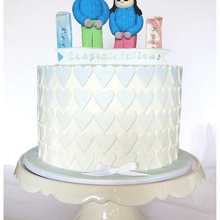 Its all hearts - Cake by Patricia Tsang