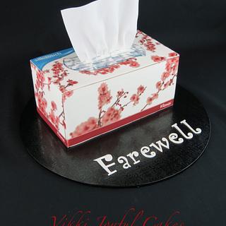 First farewell cake