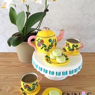 Colorful Tea Party!