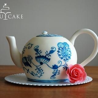 "Teapot ""BLUE ONION"""
