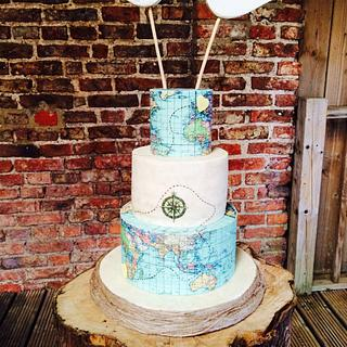 A wedding cake for a couple that have lived a fairytale xx