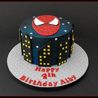 Spiderman Cake - Cake by Gill W