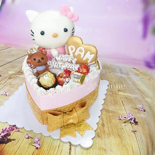 Hello Kitty - Cake by Sugar Snake Cake