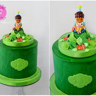 Simple Diego Cake