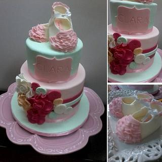 Baptism - Cake by Projectodoce