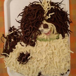 cake chocolate dog - Cake by iratorte
