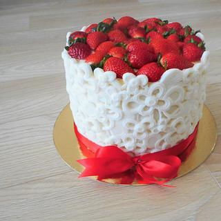 Strawberry cake  - Cake by Janka