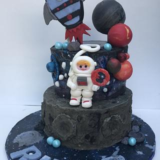 Planets Birthday Cake