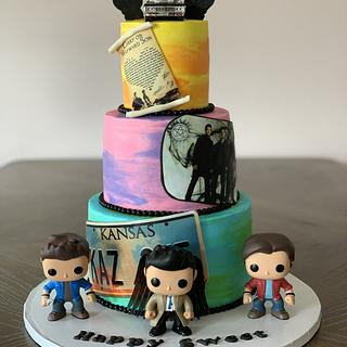 Supernaturals Cake - Cake by Brandy-The Icing & The Cake