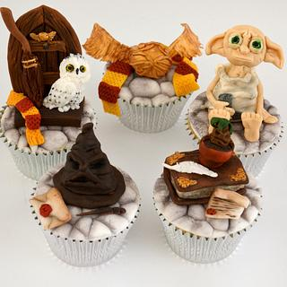 Harry Potter Cupcakes - Cake by Juliana's Cake Laboratory