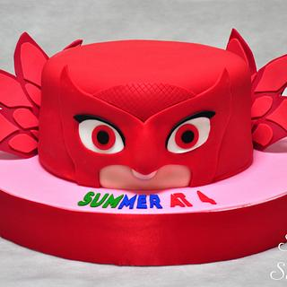 Owlette Cake - Cake by Sweet Success