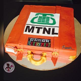 SUITCASE CAKE 💼