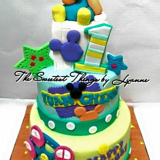 the mickey junior cake...
