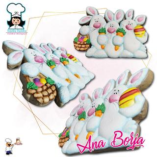 Bunnies - Cake by NanitaPachita_AnaBorja