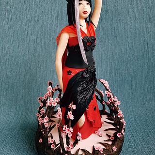 Katana Samarai Geisha