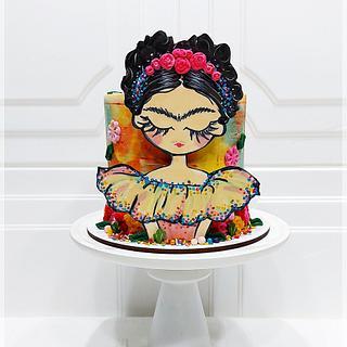 Frida Khalo - Cake by Piu Dolce de Antonela Russo