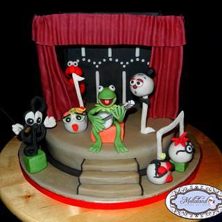 """Torta """"Muppet Show"""" (""""Muppet Show"""" cake)"""
