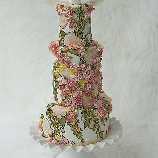 Valli Inspired Cake