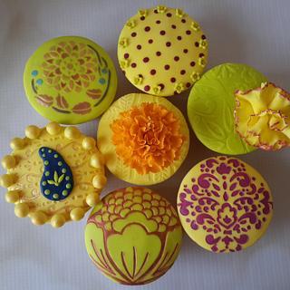 Diwali Cupcakes