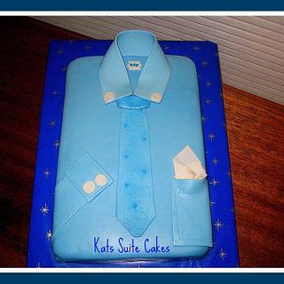 Blue Collar Dad - Cake by Kat