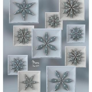 One Cookie Shape, Many Snowflakes  - Cake by Manu biscotti decorati
