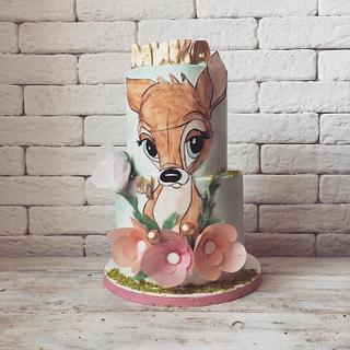 Bambi cake and cookies