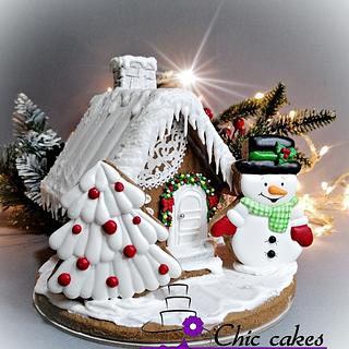 Gingerbread houses- small
